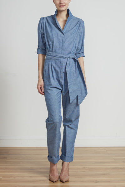 THE ULTIMATE POWERSUIT - CHAMBRAY