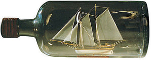 Ship in a Bottle Kit Hannah by Amati