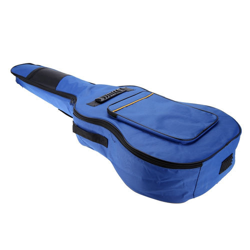Blue Padded Guitar Bag