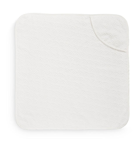 Cam Cam Copenhagen Baby Hooded Towel Off White