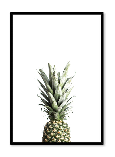 Scandinavian art print by Opposite Wall with Welcomeness pineapple art photo