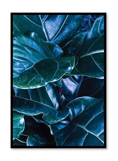 Scandinavian poster by Opposite Wall with trendy Fancy Foliage fig-tree photography