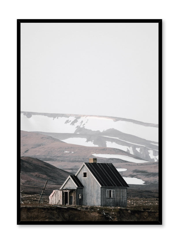 Minimalist design poster by Opposite Wall with farm landscape photography