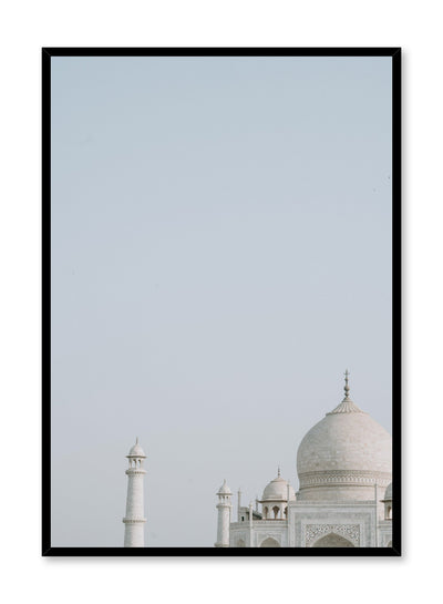 art print by Opposite Wall with trendy art photo - Taj Mahal