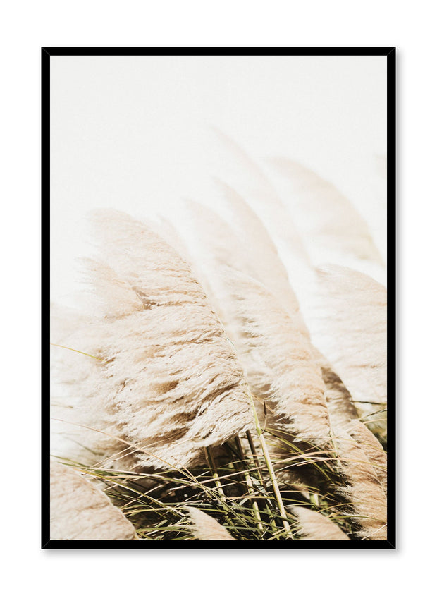 Minimalist design poster by Opposite Wall with wheat field photography