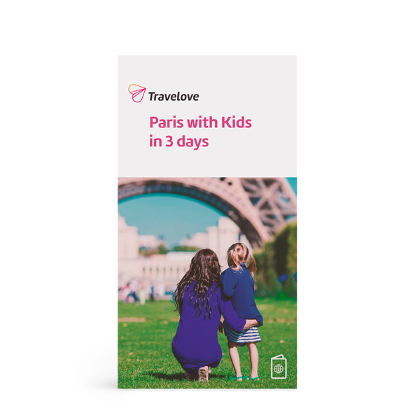Paris with kids - Paris Family Kit guidebook