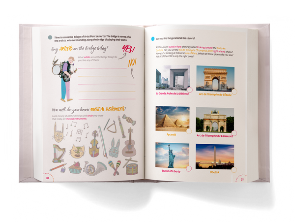 Paris Activity Book for Kids preview