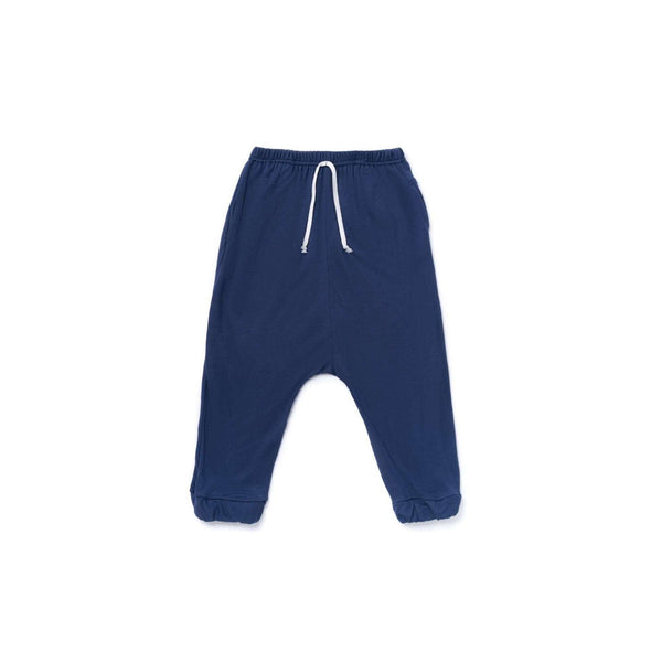 OMAMIMINI:Boys Jogger Pants in Terry | Navy OM367