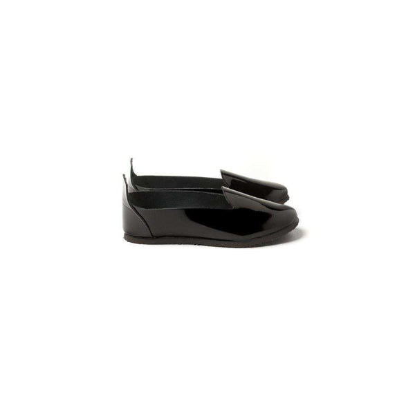 OMAMIMINI:Kids Patent Leather Loafer | Black OMS03