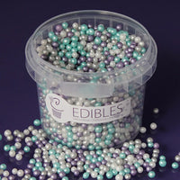 Frozen 4mm Shimmer Pearls - 25g