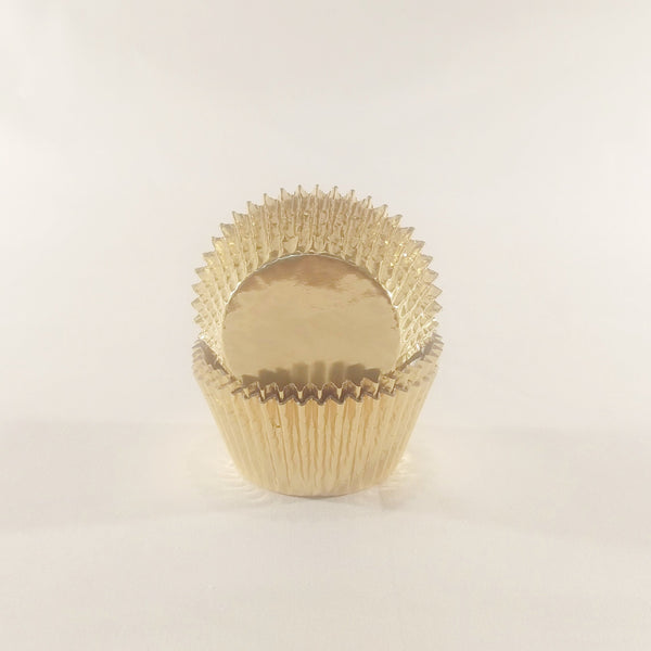 Cupcake Cases (Foil) 60 - Gold
