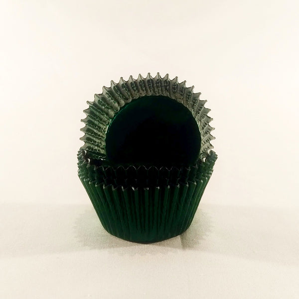 Cupcake Cases (Foil) 60 - Green