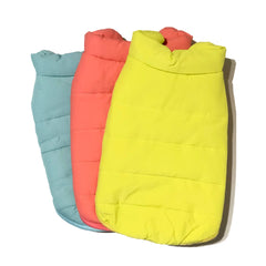 Bali the Dog jacket with fleece lining and water resistent shell, warm and cosy!