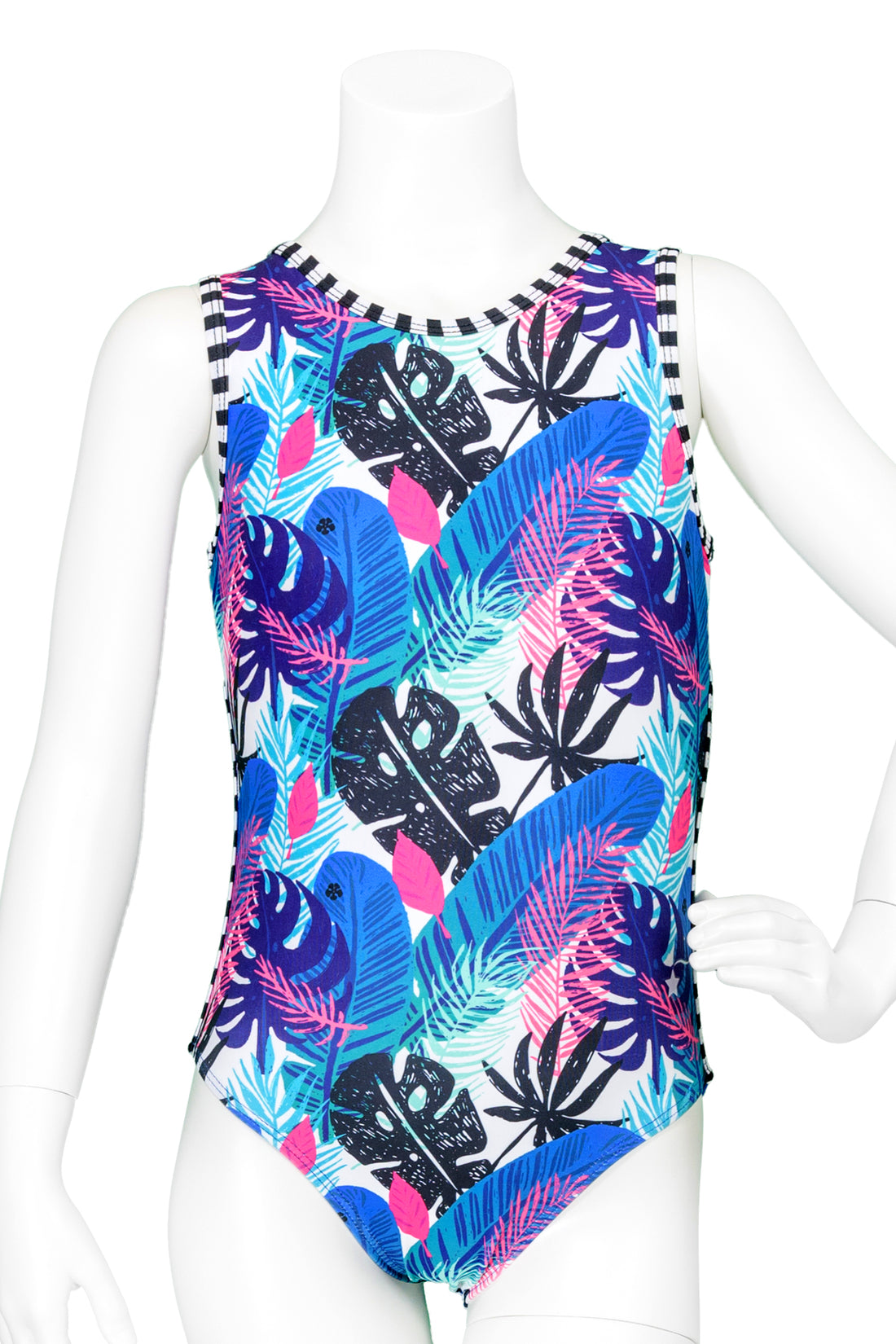 Royal Tropical Leotard