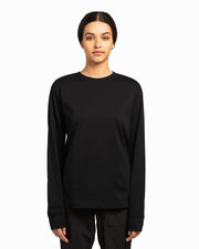 Black American Grown Supima® 100% Cotton 6oz Long Sleeve T-Shirt