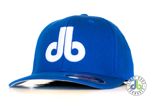db Hat – Blue with White db Flexfit