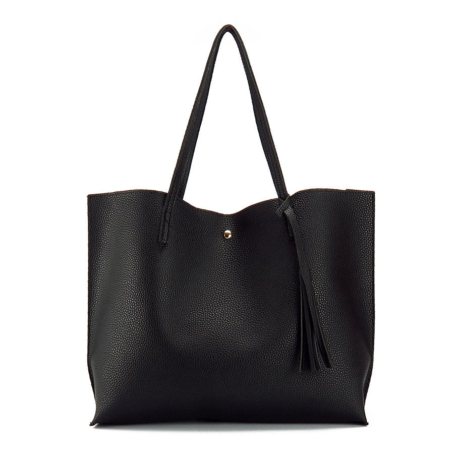 2017 Chic Large Leather Tote