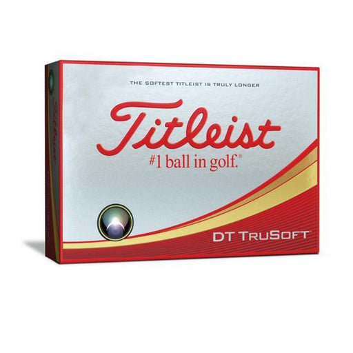 Titleist DT TruSoft Golf Balls - HowardsGolf