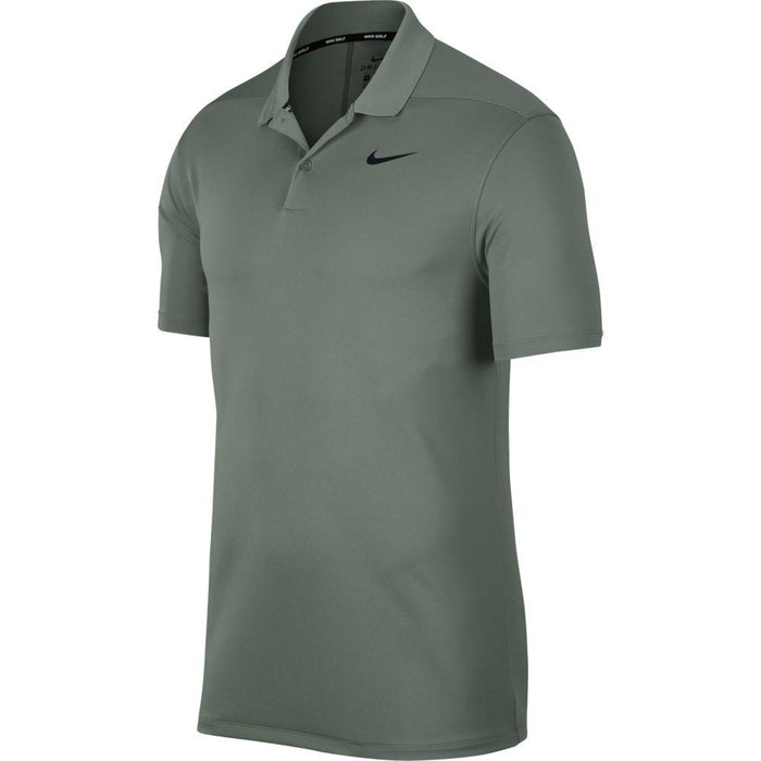 Nike Dri FIT Polo Victory Solid 891857 Vintage Lichen/Black 351 - HowardsGolf