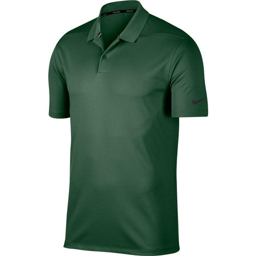 Nike Dri FIT Polo Victory Solid 891881 Gorge Green/Black 341 - HowardsGolf