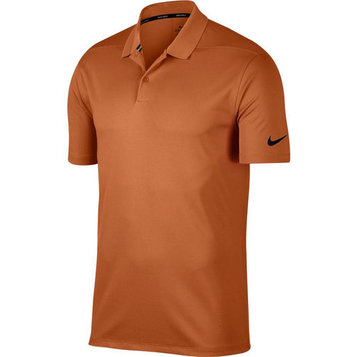 Nike Dri FIT Polo Victory Solid 891881 Desert Orange/Black 802 - HowardsGolf