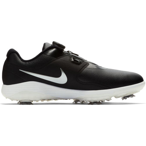 Nike Vapor Pro BOA Black/Metallic Cool Grey-White-Volt Golf Shoes - HowardsGolf