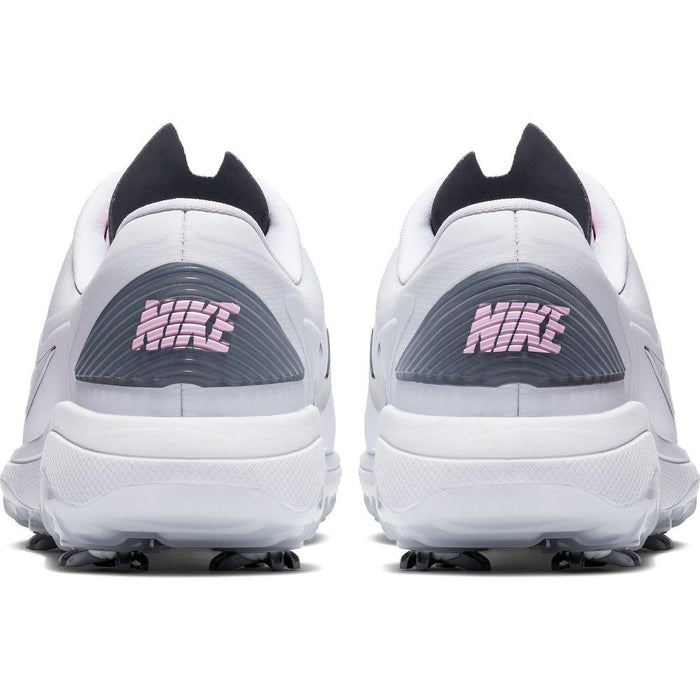 Nike Womens Nike React Vapor 2 White/Grey Golf Shoes - HowardsGolf
