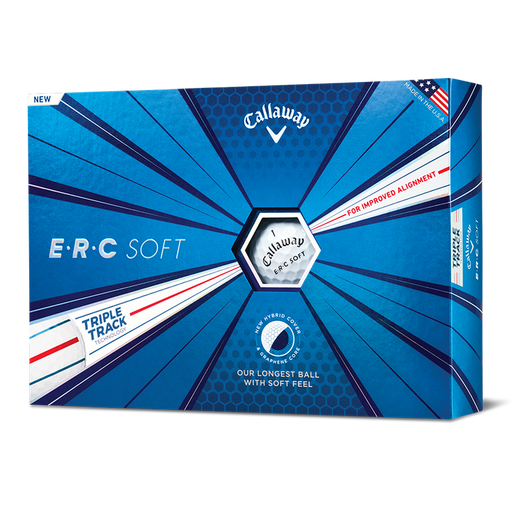 Callaway ERC Soft Triple Track Golf Balls - HowardsGolf