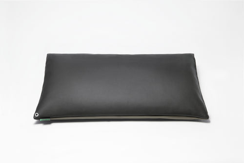 Black/Grey 2-Tone Pillow Cover