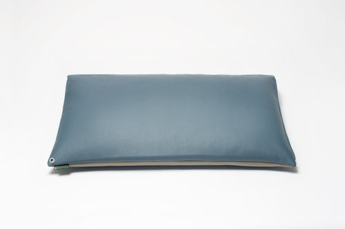 Blue/Grey 2-Tone Pillow Cover