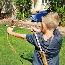 Wooden Bow and Arrow 2-Pack