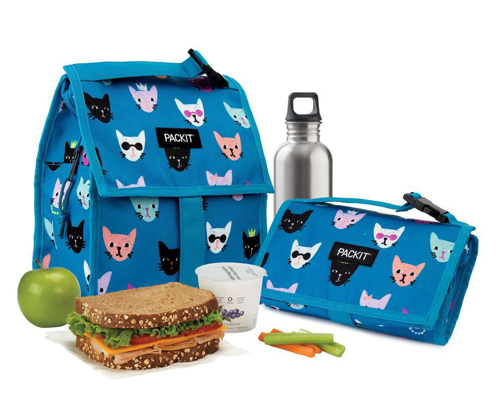 Freezable Lunch Bag - Catty