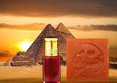 Authentic (Pure Red Egyptian Musk) Pheromones Attar Oil 3ml & FREE Red Musk Soap