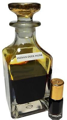 Authentic (INDIAN DEER MUSK) Grade A+ Premium Quality Black Deer Musk/Kasturi - 12ML
