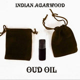 Natural (SUPERIOR Indian Agarwood Oudh) Dark Intense Aphrodisiac Attar Oil - 3ML+