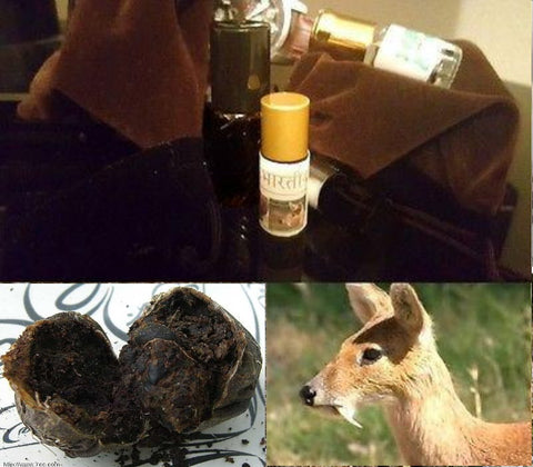 Authentic (Wild Indian Kasturi) Real Black Deer Musk Pheromones Attar Oil - 3ML+