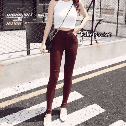 Image of Pencil Stretch Skinny Denim Jeggings