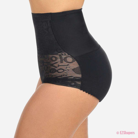 Image of Butt Lifting Waist Control Padded Panties