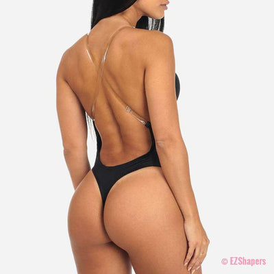 Backless Deep Plunge Body Shaper