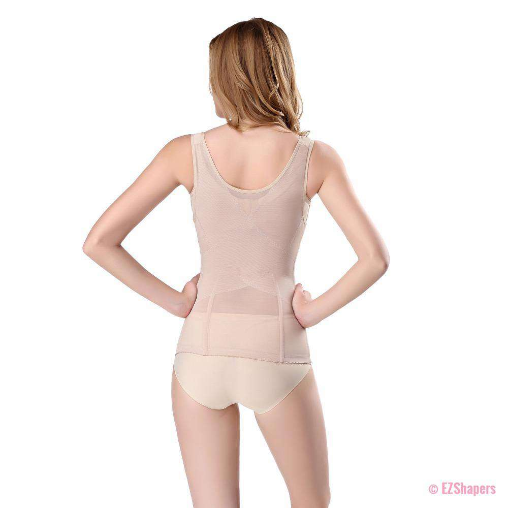Thinstincts Bodysuit Shaper with Front Zipper