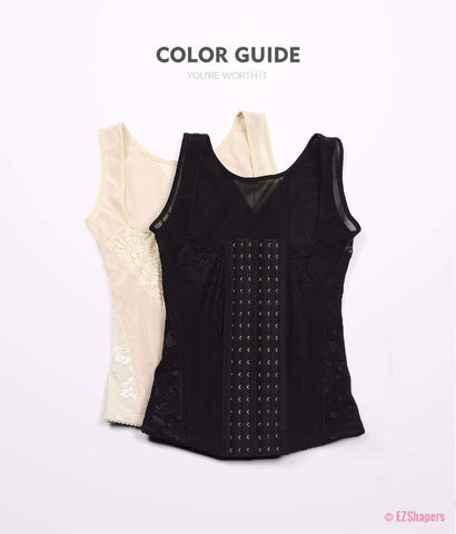 Image of Thinstincts Bodysuit Shaper with Front Zipper