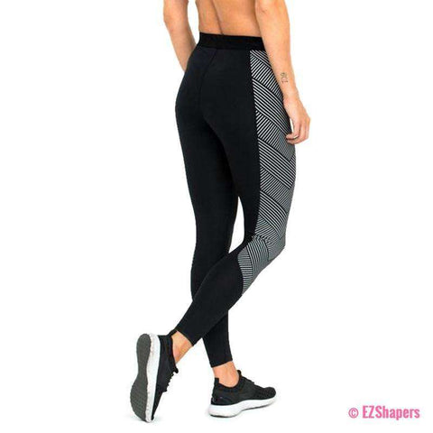 Image of Striped Workout Leggings