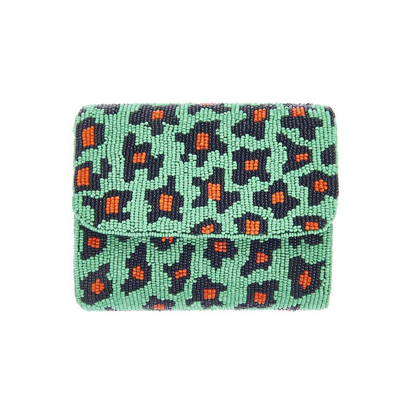 Jungle Leopard Clutch-From St Xavier