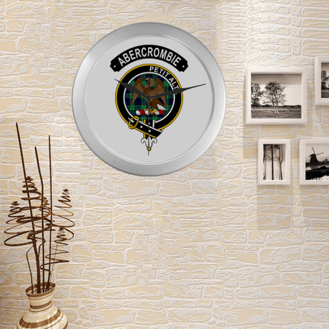 Abercrombie (Or Abercromby) Clan Tartan Wall Clock A7