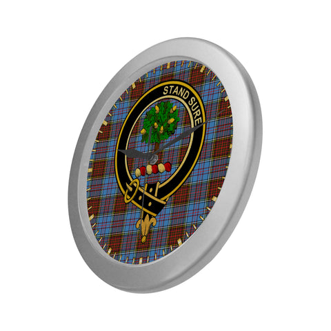 Image of ANDERSON CLAN TARTAN WALL CLOCK A9