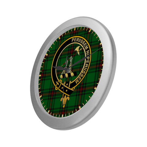 Image of ANSTRUTHER CLAN TARTAN WALL CLOCK A9