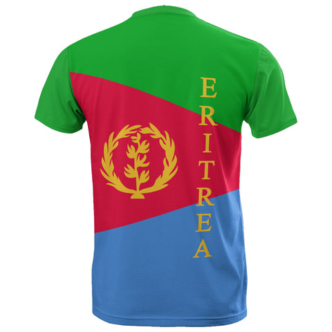 Image of Eritrea Flag T-shirt TH0
