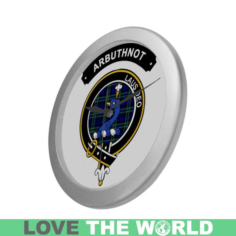 Image of Arbuthnot Clan Tartan Wall Clock  - Love The World