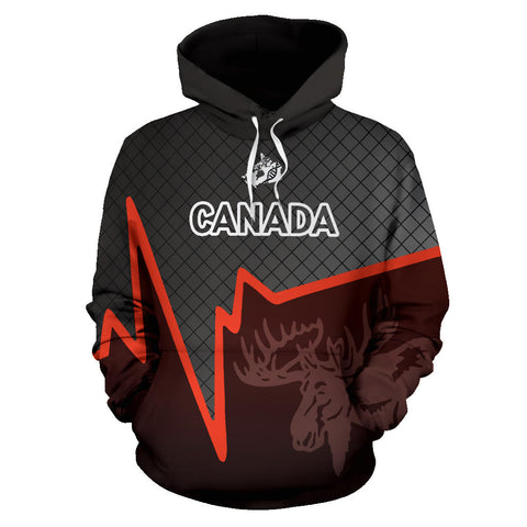 Canadian Heart and Loyalty Hoodie K5