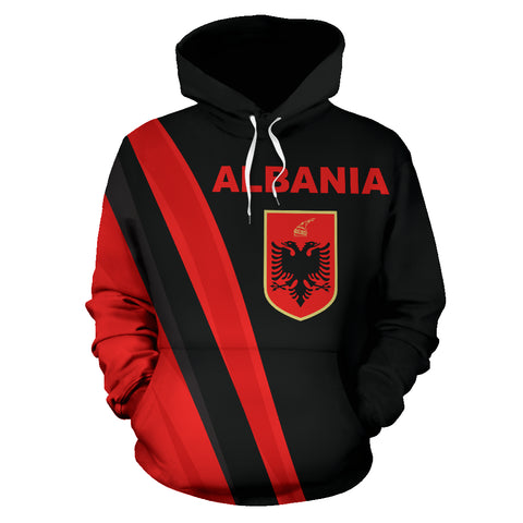 Albania Hoodie - Special Version By 1sttheworld for Men and Women